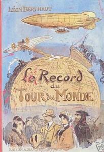 Le Record du tour du monde, Par L. Berthaut (1ère de couverture)